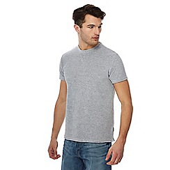 Racing Green - Grey towelling t-shirt
