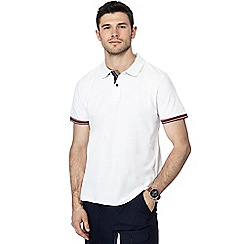 Racing Green - Big and tall white tipped polo shirt