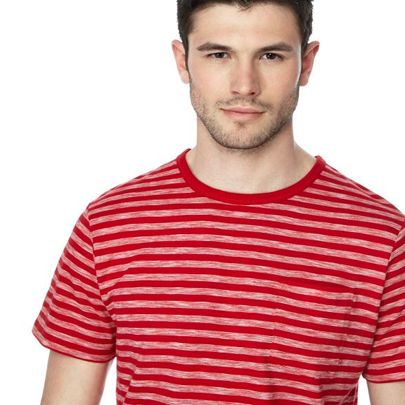 shirt striped Green tall red and t Big Racing 0AxnPf1n