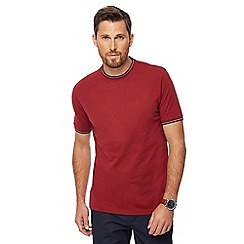 Racing Green - Big and tall red tipped t-shirt