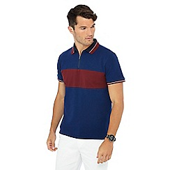 Racing Green - Bright blue polo shirt