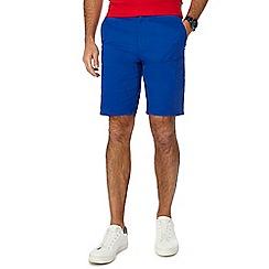 Racing Green - Blue chino shorts