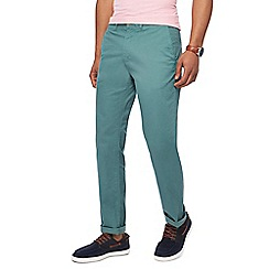 Racing Green - Green straight fit chinos