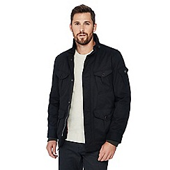 Racing Green - Big and tall navy 3-in-1 jacket