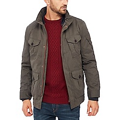Racing Green - Big and tall khaki 3-in-1 jacket