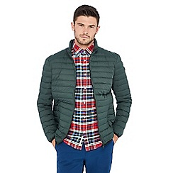 Racing Green - Dark green padded jacket