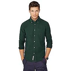 Racing Green - Big and tall dark green oxford shirt