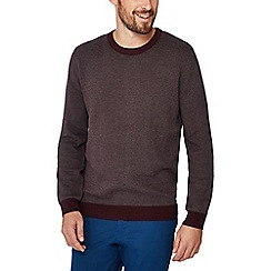 Racing Green - Big and tall wine red sweatshirt