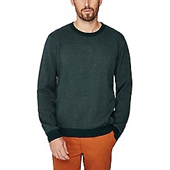 Racing Green - Big and tall green crew neck sweatshirt