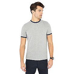 Racing Green - Big and tall grey tipped t-shirt