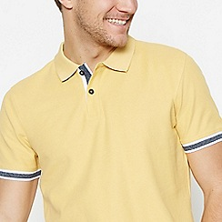 Racing Green - Yellow Cotton Polo Shirt