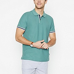 Racing Green - Green Cotton Polo Shirt