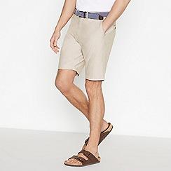 Racing Green - Natural Cotton Oxford Chino Shorts