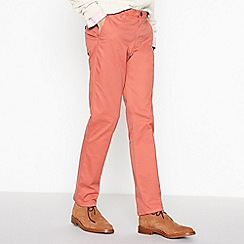 Racing Green - Big and tall coral stretch regular fit chinos