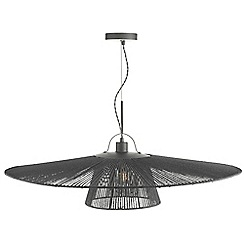 Home Collection - Grey String 'Rose' Pendant Ceiling Light