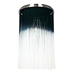 Home Collection - Ombre Tassel 'Blossom' Flush Ceiling Light