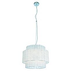 Ceiling lights debenhams home collection ariel pendant aloadofball Choice Image