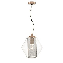 Home Collection - Copper 'Everett' pendant ceiling light