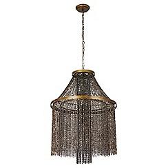 Ceiling lights debenhams abigail ahernedition metal xavier pendant ceiling light aloadofball Gallery