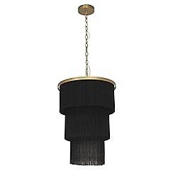 Ceiling lights debenhams abigail ahernedition aa pax tassel pendant ceiling light aloadofball Gallery