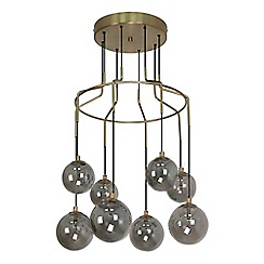 Home Collection - Metal and glass 'Luther' pendant ceiling light