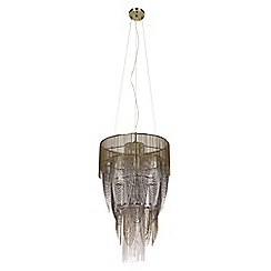 MW by Matthew Williamson - Gold 'Reverie' chandelier