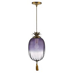 MW by Matthew Williamson - Purple 'Gaia' pendant light