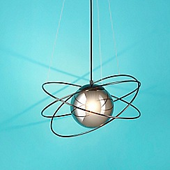 Debenhams - Pale Grey 'Saturn' Pendant Light