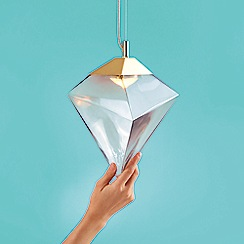 Sarah Colson - Medium Grey 'Prism' Pendant Light