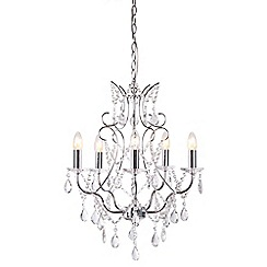 Home Collection - Mia Crystal Glass Chandelier Light