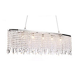 Home Collection - Madison Crystal Glass Pendant Light