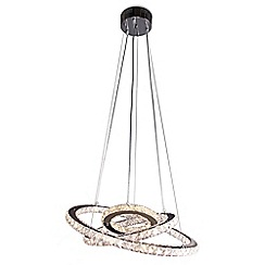 Home Collection - Stella Crystal Glass LED Pendant Light