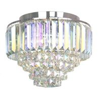 Home collection glass mack flush ceiling light debenhams home collection chrome and crystal florence flush ceiling light aloadofball Choice Image