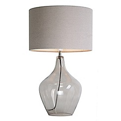 Home Collection - Smoked Glass 'Highgate' Table Lamp