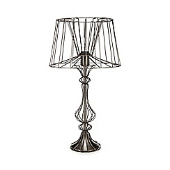 Abigail Ahern/EDITION - 'Ophelia' Antique Nickel Table Lamp