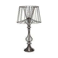 Table lamps debenhams abigail ahernedition antique nickel aa ophelia table light aloadofball Gallery