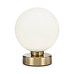 Debenhams - 'Archer' Antique Brass Table Lamp