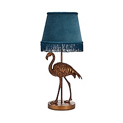 MW by Matthew Williamson - Gold flamingo table light
