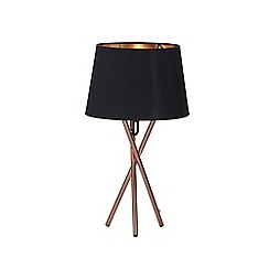 Debenhams - Orange 'Drey' Table Light