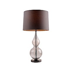 Debenhams - Pale Grey 'Noble' Table Light