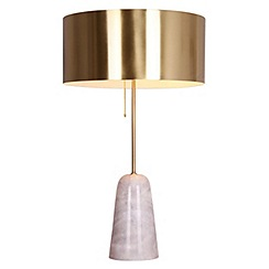 Table lamps debenhams j by jasper conran marble milo table lamp aloadofball Choice Image