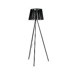 Debenhams - Black 'Nara' Floor Lamp