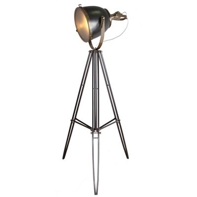 Home Collection Autumn Gunmetal And Champagne Metal Tripod