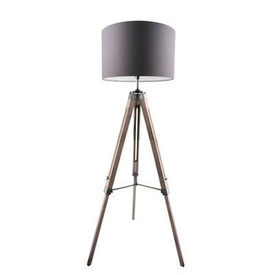Home collection ryder wooden floor lamp