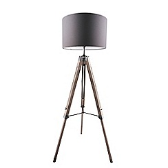 Home Collection - Ryder Wooden Floor Lamp