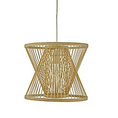 Home Collection - Bamboo 'Holden' easy fit light shade