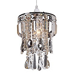 Home Collection - Addison Crystal Glass Easyfit Ceiling Shade