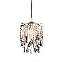 Home Collection - Arya Crystal Glass Easyfit Ceiling Shade