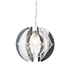 Home Collection - Weston Silver Easyfit Ceiling Shade