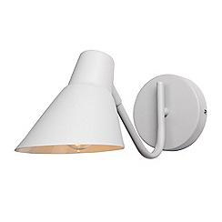 Home Collection - Grey Metal 'Fletcher' Wall Task Light